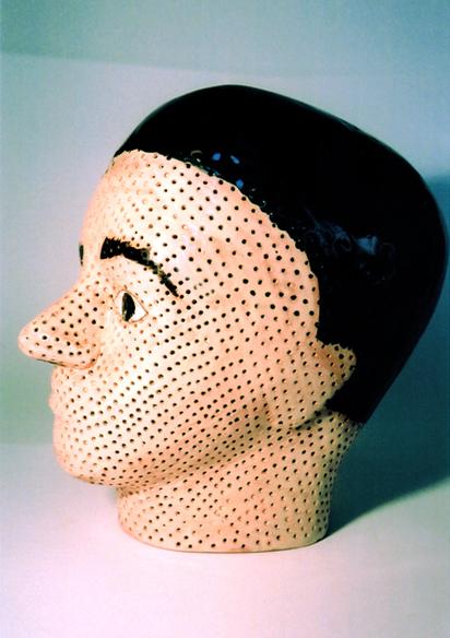 """""""La tête poreuse"""", profil"""