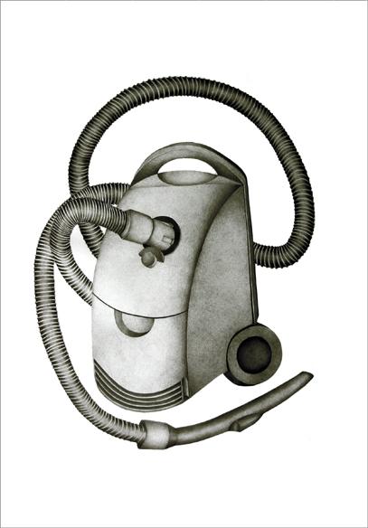 """""""Les amis 1"""", mine de plomb sur papier, 60 cm x 86 cm, 2009, Paris"""